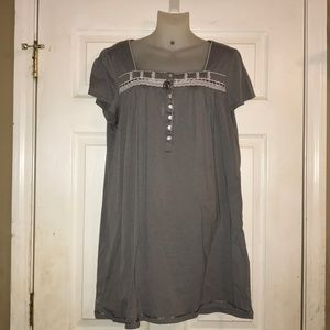 Grey Kim Rogers night gown